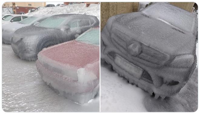 Loạt hình ảnh trong mùa đông khắc nghiệt, băng tuyết trắng xoá ở nước Nga chỉ nhìn thôi cũng đủ thấy rét run cầm cập - Ảnh 12.