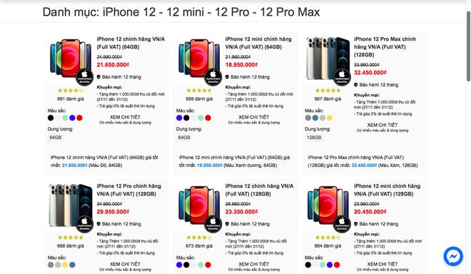 iPhone 12 chính hãng tại Việt Nam đang giảm giá vài triệu đồng mỗi chiếc - Ảnh 4.