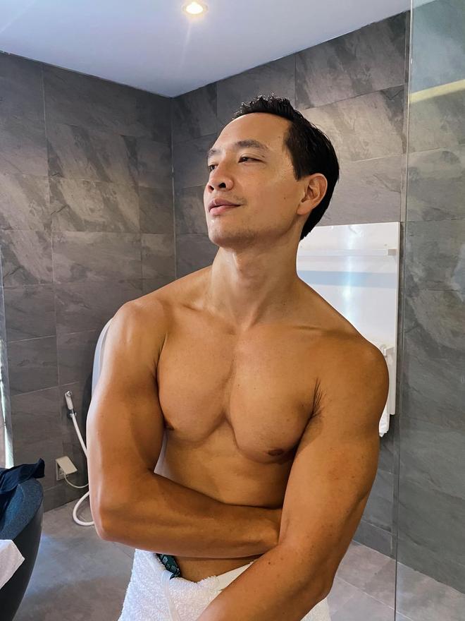 """Kim Lý khoe ảnh tập gym để có được cánh tay """"đủ ẵm 2 bé sinh đôi"""", nhưng có cần phải cuồn cuộn cơ bắp thế này không? - Ảnh 5."""