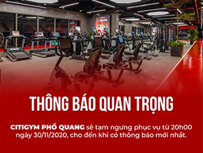 HLV thể hình tại phòng tập Citigym quận Phú Nhuận âm tính với SARS-COV-2 - ảnh 1