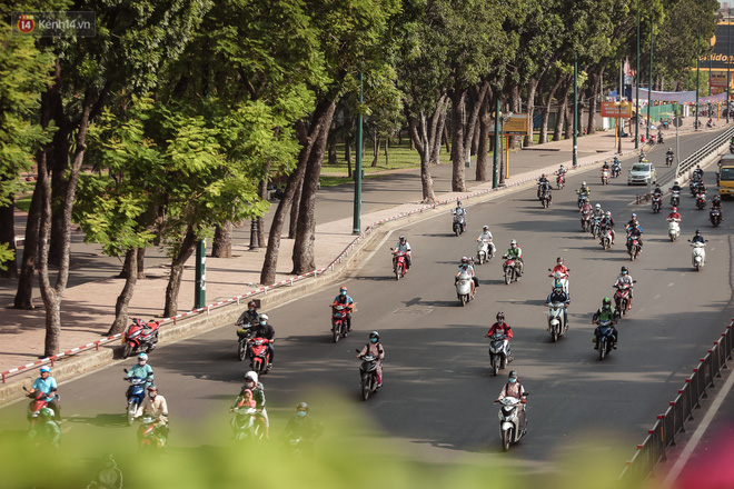 Ngắm nhìn một Sài Gòn bình yên trong ngày cuối năm 2020 - Ảnh 1.