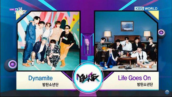 BTS tranh cúp cùng BTS nhưng bài mới lại thua đậm trước Dynamite, phá kỷ lục của EXO mà fan không biết vui hay buồn! - Ảnh 1.