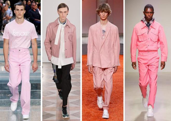 Bad boy ngọt ngào chính là Binz: mặc suit đặc chất Millennial Pink, chân đi mỗi bên một mẫu sneaker hot, rõ là nhắm gặp Châu nên mới bảnh vậy á! - ảnh 3
