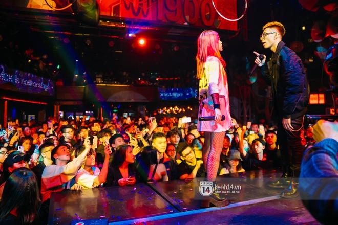 MCK - Tlinh rủ rê chiến hữu trong gang quẩy banh đêm nhạc, Obito và WEAN lần đầu khoe track mới với khán giả Hà Thành - ảnh 10