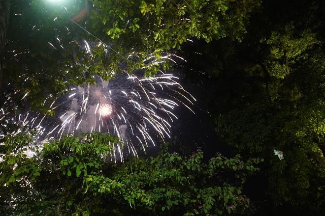 Pháo hoa đã rực sáng bầu trời cả nước, chúc mừng năm mới 2021 - Ảnh 7.