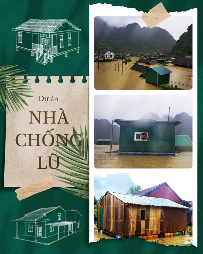 Dự án Nhà Chống Lũ: Những căn nhà an toàn sẽ tạo nên cuộc sống mới cho nhân dân vùng lũ - Ảnh 1.