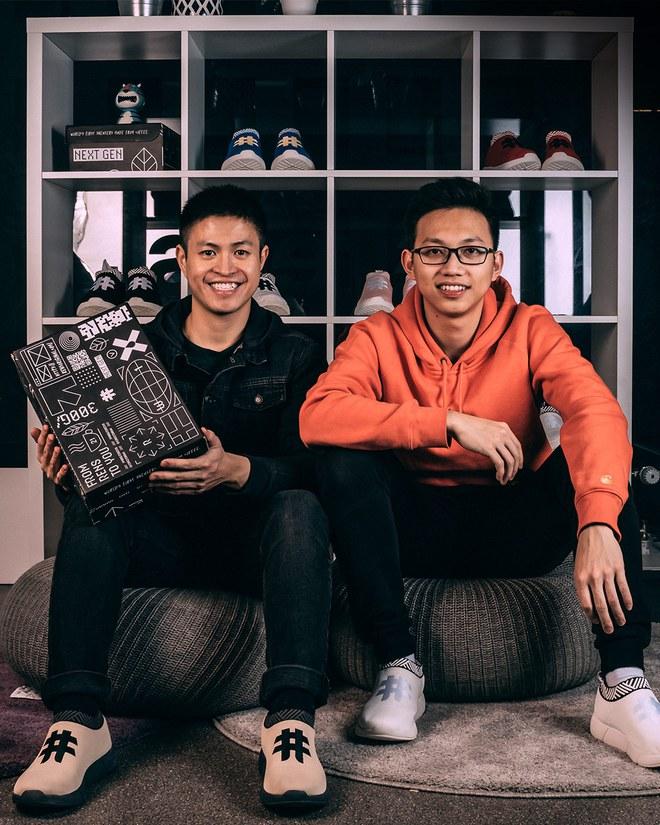 Jesse Khánh Trần và Sơn Chu: Bước ra thế giới với những đôi giày làm từ bã cafe và chai nhựa - Ảnh 1.