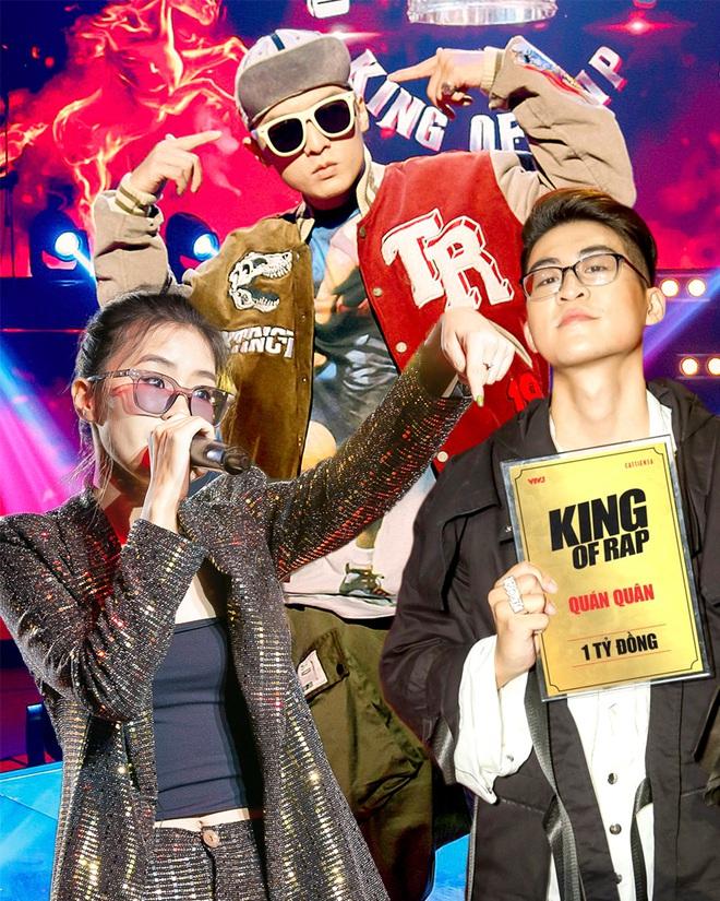 King Of Rap - sân chơi góp phần thay đổi bộ mặt của Rap/ Hip-hop Việt trên thị trường - Ảnh 1.