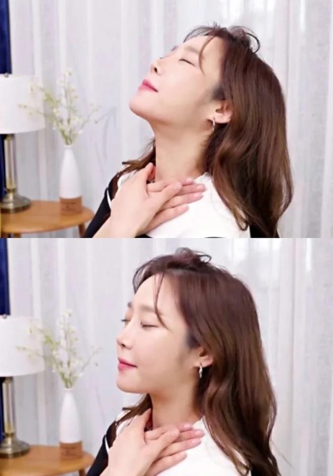 Gái Hàn hé lộ tuyệt chiêu massage khiến gương mặt thon thả, nâng cơ thành mặt Vline tức thì - ảnh 5