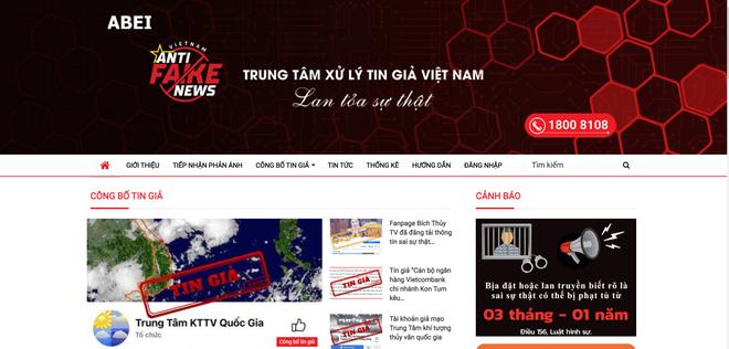 Bộ Thông tin và Truyền thông công bố website, đường dây nóng tiếp nhận phản ánh, xử lý vấn nạn tin giả - ảnh 1