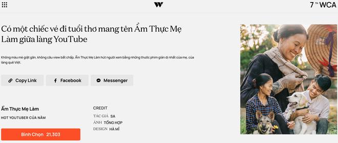 """Dàn hot YouTuber tranh vote tại WeChoice: Hậu Hoàng đối đầu Thiên An, Jenny Huỳnh đua với """"tiền bối"""" Ẩm Thực Mẹ Làm - ảnh 4"""