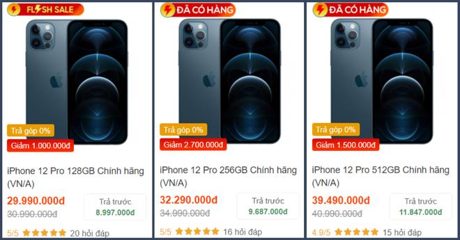 Săm soi giá iPhone 12 những ngày cận Tết: 12 mini giảm giá cực sâu, 12 Pro Max hạ nhiệt - ảnh 6
