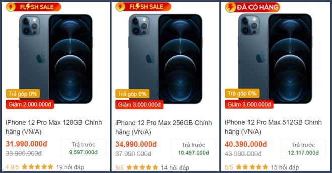 Săm soi giá iPhone 12 những ngày cận Tết: 12 mini giảm giá cực sâu, 12 Pro Max hạ nhiệt - ảnh 8