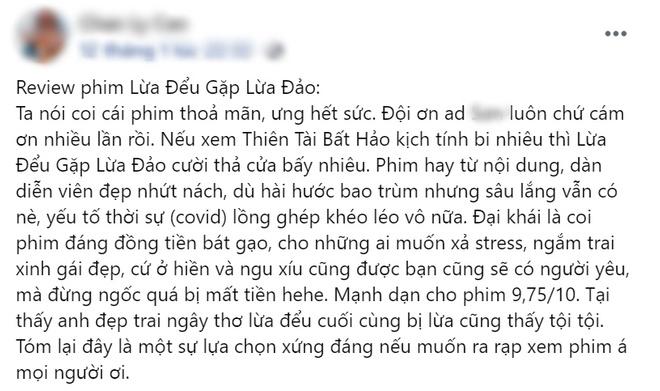 Netizen chấm điểm cao tuyệt đối cho Lừa Đểu Gặp Lừa Đảo của Baifern, bóc phốt phim khiến dân tình cười đau ruột - ảnh 5