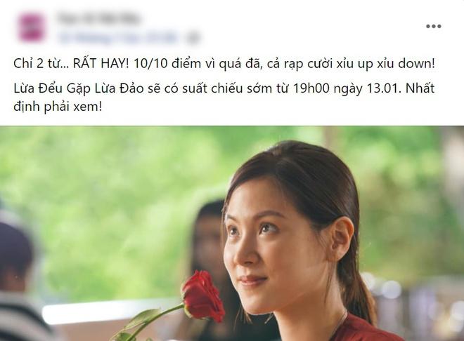 Netizen chấm điểm cao tuyệt đối cho Lừa Đểu Gặp Lừa Đảo của Baifern, bóc phốt phim khiến dân tình cười đau ruột - ảnh 9