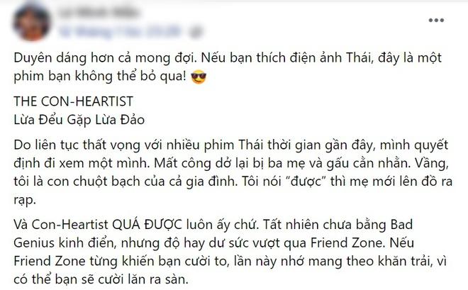 Netizen chấm điểm cao tuyệt đối cho Lừa Đểu Gặp Lừa Đảo của Baifern, bóc phốt phim khiến dân tình cười đau ruột - ảnh 8