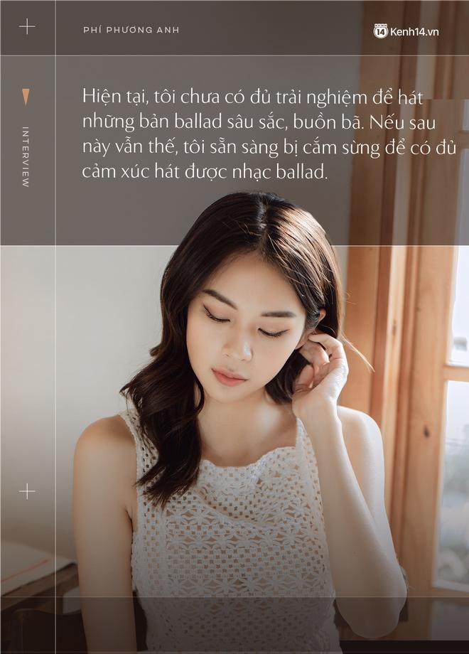 Phí Phương Anh: Tôi thần tượng và có rất nhiều thứ cần hỏi chị Chi Pu trên con đường âm nhạc của mình - Ảnh 7.