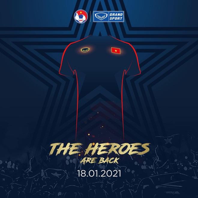 Quang Hải, Huỳnh Như cực ngầu trong teaser ra mắt áo đấu đội tuyển Việt Nam năm 2021 - ảnh 2