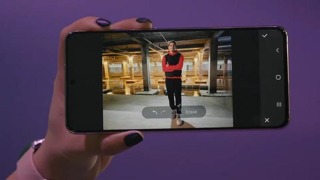 Chỉ trong vòng 10 giây ngắn ngủi, Samsung khiến người xem livestream ra mắt Galaxy S21 phải thốt lên Wow! - ảnh 2