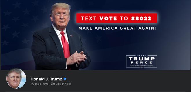 Facebook bất ngờ mở lại tài khoản cho ông Trump, nhưng không còn công nhận là Tổng thống Hoa Kỳ - ảnh 1