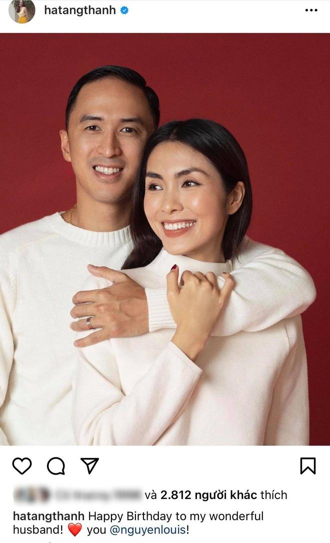 Hà Tăng lại khiến dân tình phát ghen với khoảnh khắc mừng sinh nhật Louis Nguyễn, gần 1 thập kỷ mà mãi như vợ chồng son - ảnh 1
