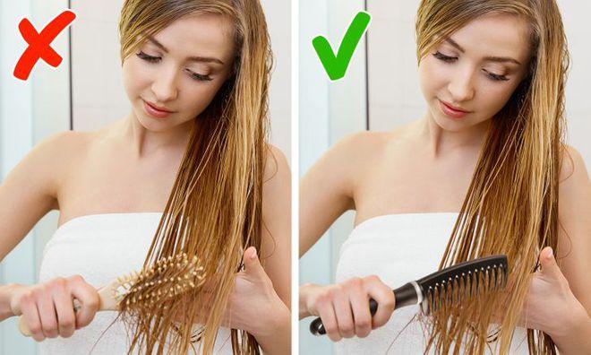 5 sai lầm khi chải tóc có thể làm hỏng mái tóc của bạn, sửa ngay nếu muốn tóc bóng mượt hơn - ảnh 4