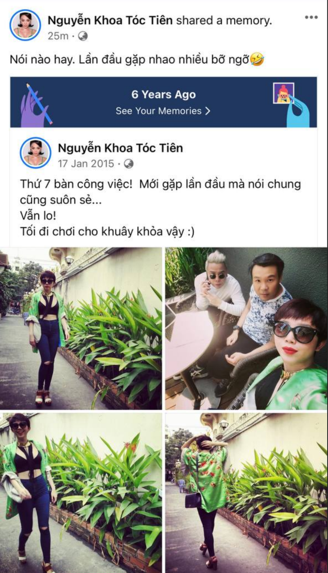 Tóc Tiên hé lộ hình ảnh lần đầu gặp ông xã Hoàng Touliver, bạn thân tung bằng chứng tiên tri trước mối quan hệ bất thường - ảnh 1