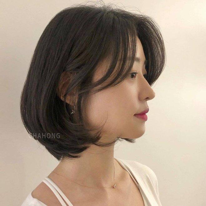 4 kiểu tóc ngắn đang làm mưa làm gió tại các salon Hàn Quốc, diện lên là trẻ xinh hơn hẳn - ảnh 4
