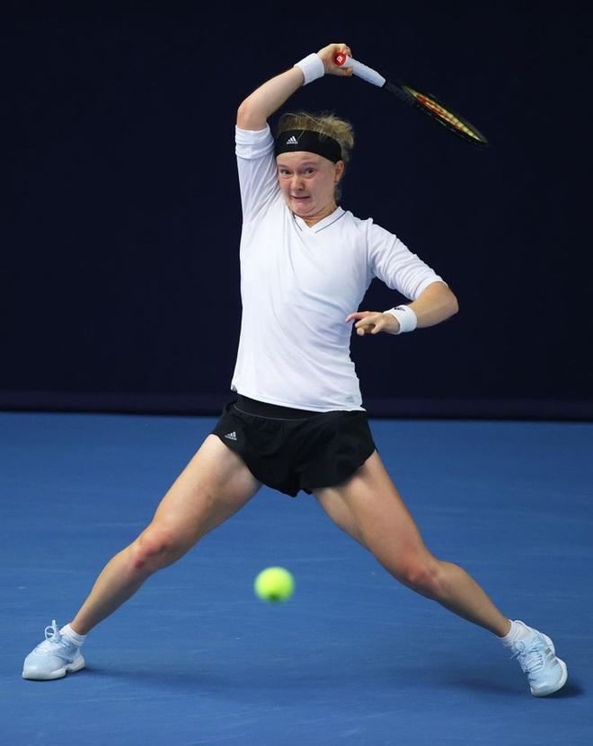 Tay vợt nữ dị nhân ở Australian Open 2021, chỉ có 8 ngón tay và 7 ngón chân - ảnh 3