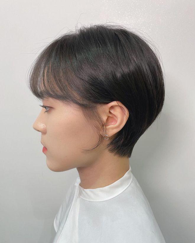 4 kiểu tóc ngắn đang làm mưa làm gió tại các salon Hàn Quốc, diện lên là trẻ xinh hơn hẳn - ảnh 5