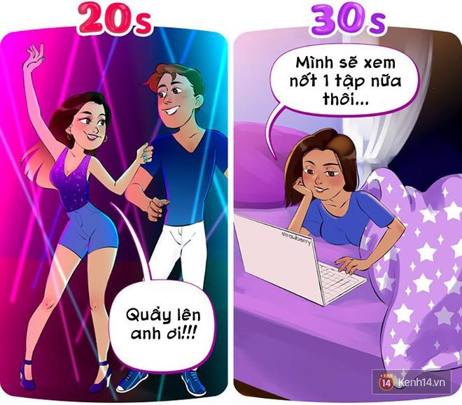 Bạn đã sống chậm như tuổi 30 chưa hay vẫn mê chơi như hồi 20 tuổi? - ảnh 4