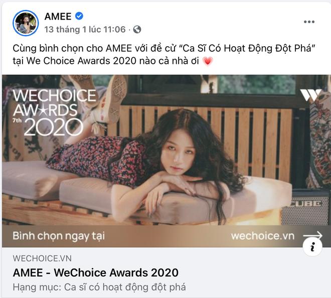 Vbiz rần rần vì WeChoice Awards 2020: Sao Việt đăng đầy newsfeed, fanpage NS Chí Tài chia sẻ đầy xúc động, Binz - Hoà Minzy gấp rút kêu gọi - ảnh 12