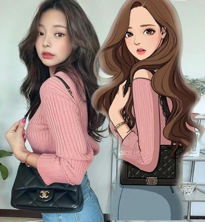 Youtuber Hàn kiếm triệu view nhờ makeup giống mỹ nhân True Beauty, netizen xỉu mạnh vì nhìn y chang nguyên mẫu - ảnh 4