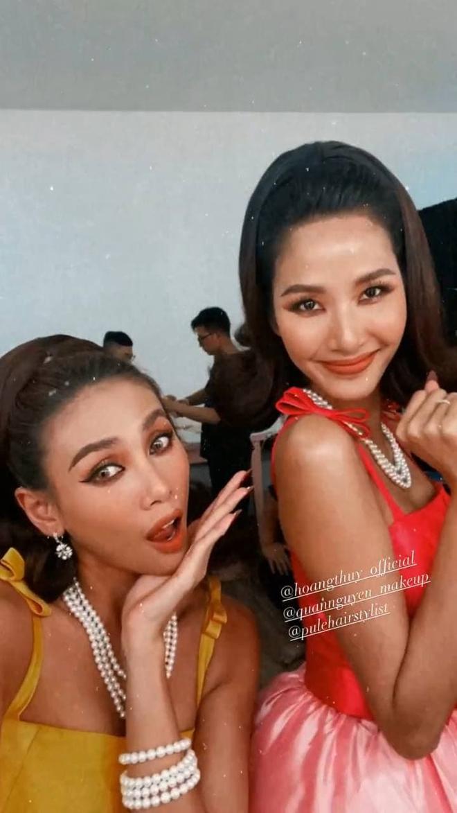 Hoàng Thùy tươi tắn chụp hình cùng Võ Hoàng Yến sau khi tuyên bố ngừng tham gia show thực tế - ảnh 4