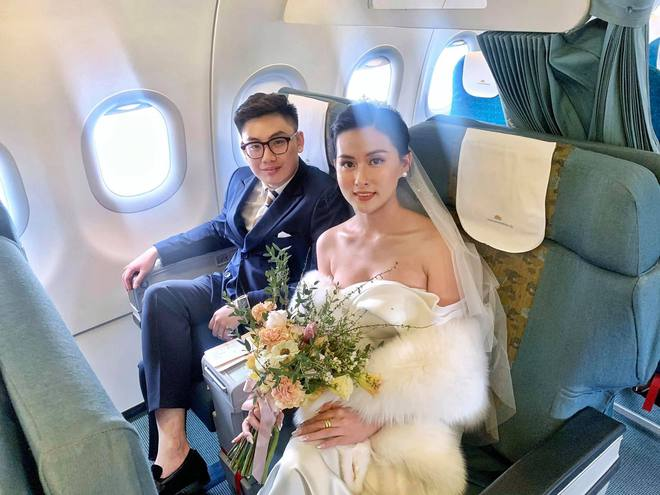 Hành trình đón dâu đặc biệt trên chuyến bay của Vietnam Airlines - ảnh 3