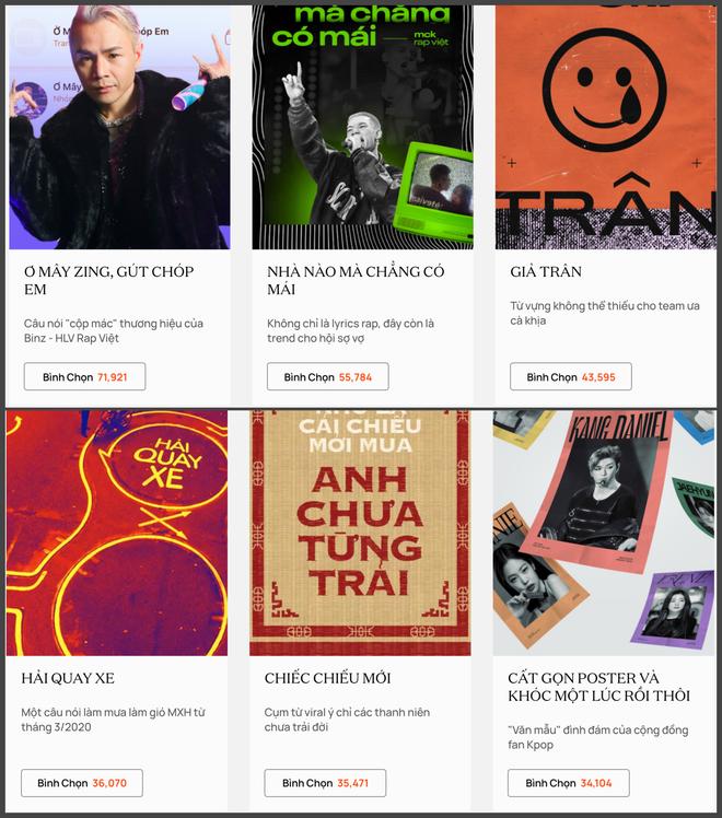 WeChoice Awards 2020 tranh nhau từng phiếu vote: Căng nhất ở Hot YouTuber Của Năm, Hải Tú dẫn đầu Rising GenZ nhưng 30 chưa phải Tết? - ảnh 8