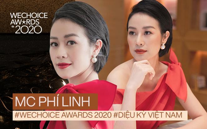 MC Phí Linh trải lòng về màn comeback ở WeChoice Awards 2020, hé lộ về điều diệu kỳ và gương mặt đề cử gây ấn tượng nhất mùa giải - ảnh 1