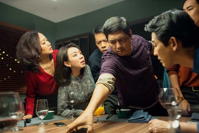Tiệc Trăng Máu: Bàn tiệc diễn xuất xứng đáng trăm tỷ của điện ảnh Việt 2020 - Ảnh 3.