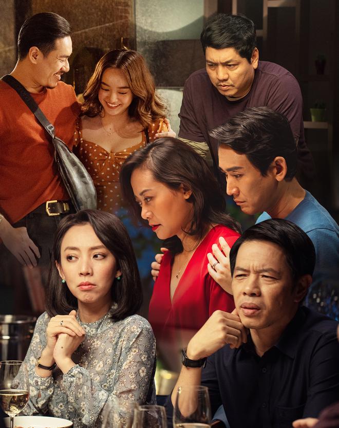 Tiệc Trăng Máu: Bàn tiệc diễn xuất xứng đáng trăm tỷ của điện ảnh Việt 2020 - Ảnh 1.