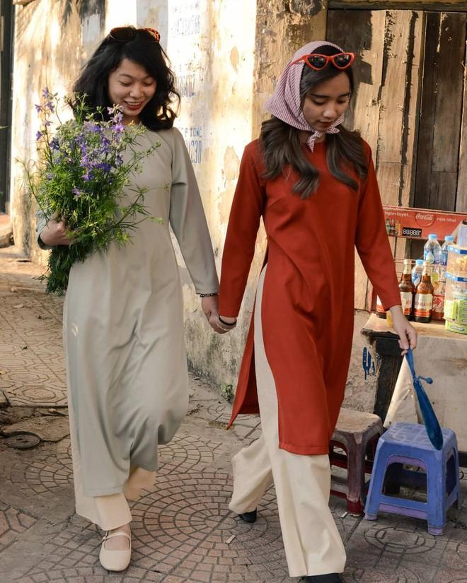 Loạt shop bán áo dài Tết ở Sài Gòn: Sang chảnh hay trẻ trung đều đẹp mê, giá từ 700k - ảnh 30