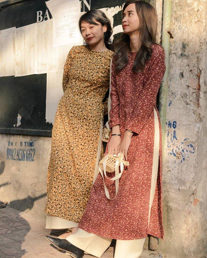 Loạt shop bán áo dài Tết ở Sài Gòn: Sang chảnh hay trẻ trung đều đẹp mê, giá từ 700k - ảnh 31