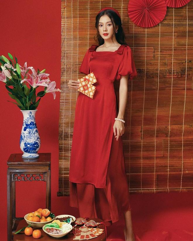 Loạt shop bán áo dài Tết ở Sài Gòn: Sang chảnh hay trẻ trung đều đẹp mê, giá từ 700k - ảnh 11