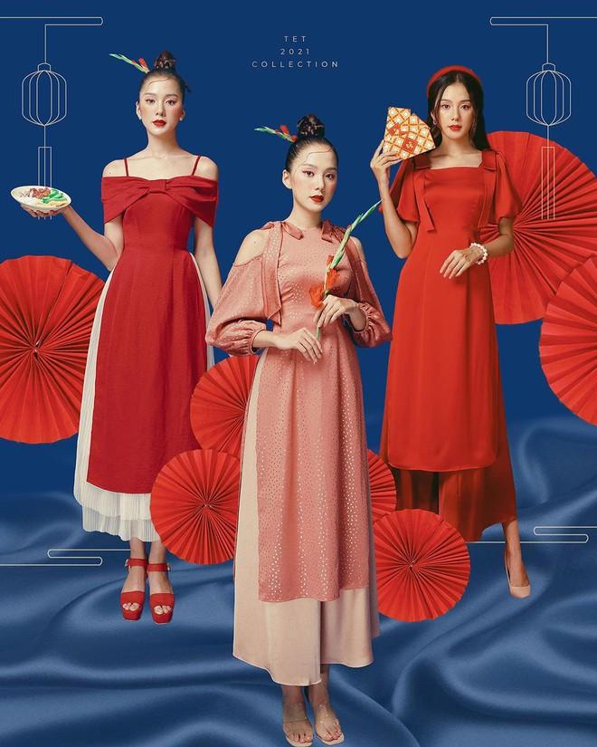 Loạt shop bán áo dài Tết ở Sài Gòn: Sang chảnh hay trẻ trung đều đẹp mê, giá từ 700k - ảnh 8