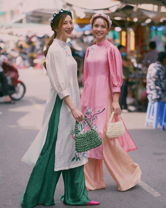 Loạt shop bán áo dài Tết ở Sài Gòn: Sang chảnh hay trẻ trung đều đẹp mê, giá từ 700k - ảnh 26