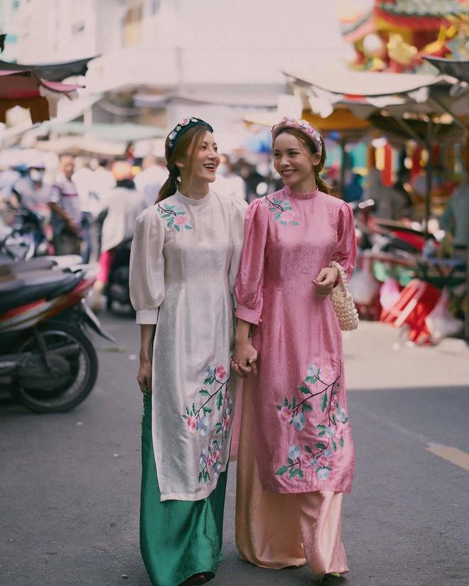 Loạt shop bán áo dài Tết ở Sài Gòn: Sang chảnh hay trẻ trung đều đẹp mê, giá từ 700k - ảnh 25