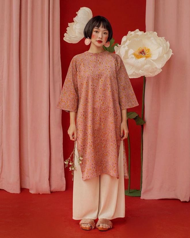 Loạt shop bán áo dài Tết ở Sài Gòn: Sang chảnh hay trẻ trung đều đẹp mê, giá từ 700k - ảnh 2
