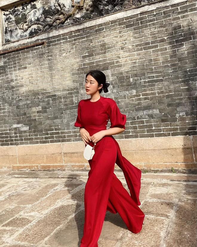 Loạt shop bán áo dài Tết ở Sài Gòn: Sang chảnh hay trẻ trung đều đẹp mê, giá từ 700k - ảnh 13