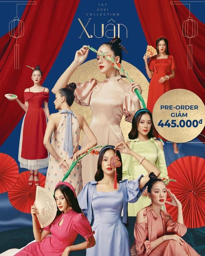 Loạt shop bán áo dài Tết ở Sài Gòn: Sang chảnh hay trẻ trung đều đẹp mê, giá từ 700k - ảnh 7