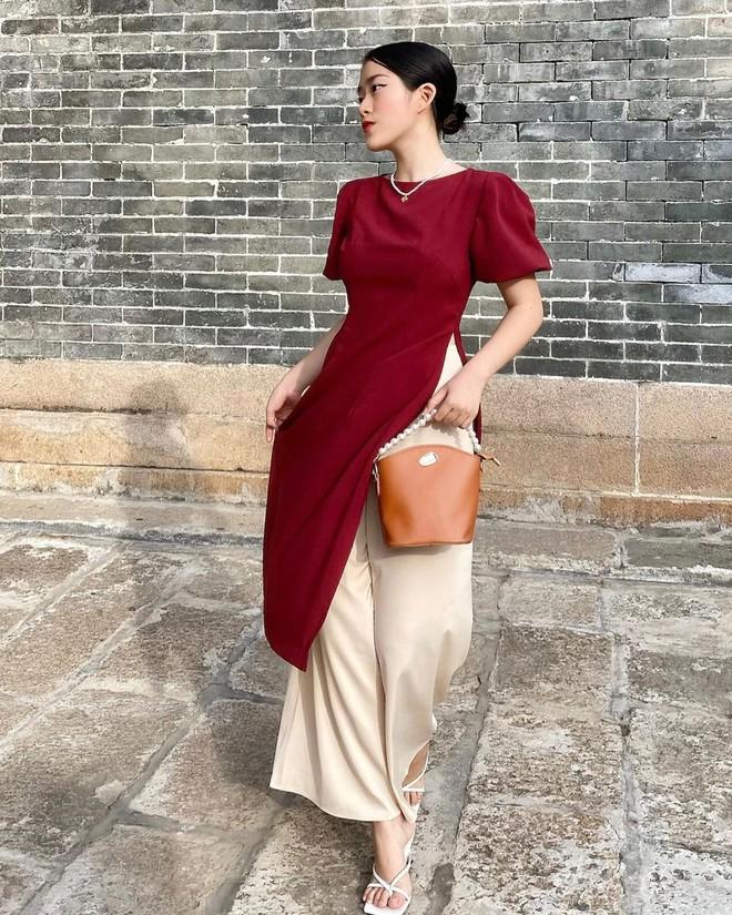 Loạt shop bán áo dài Tết ở Sài Gòn: Sang chảnh hay trẻ trung đều đẹp mê, giá từ 700k - ảnh 14