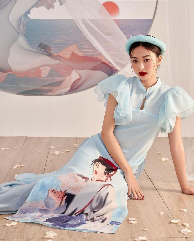 Loạt shop bán áo dài Tết ở Sài Gòn: Sang chảnh hay trẻ trung đều đẹp mê, giá từ 700k - ảnh 21